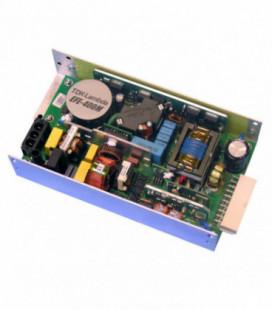 Fuente de Alimentación AC DC configurable multisalida 400W, Uin Vac monofásica, Uout 12, 24, 28, 48Vdc, TDK-LAMBDA