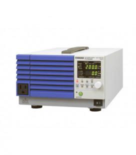 Fuente programable AC KIKUSUI. 500VA. Rangos de trabajo 1-135Vac, 2-270Vac. RS-232 estándar. GPIB y USB opcional.