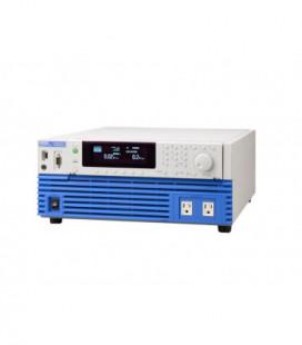 Fuente programable AC KIKUSUI. Fuente programable con salida AC 500 VA. Salida 1-300Vac, 1,4-424Vdc. Iout max 5Aac