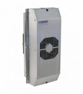 Refrigeradores Peltier, 250W, 24Vdc, 17A, montaje semiempotrado, IP66, carcasa inox AISI304, UL, SEIFERT