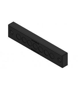 Pasamuros para cables no conectorizados, IP66, 7 cables, serie KEL-DPZ-E, color negro, ICOTEK