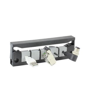 Pasamuros para cables conectorizados, IP54, 5 insertos, serie KEL-QUICK-E, ICOTEK