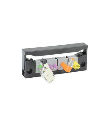 Pasamuros para cables conectorizados, IP54, 4 insertos, serie KEL-QUICK-E, ICOTEK