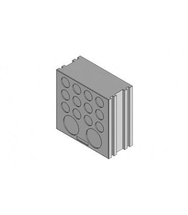 Insertos para paso de cables sin conector DT