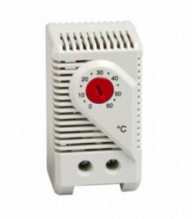 Termostato bimetálicos 1NC, serie KTO 011, rango de ajuste +0°C ... +60°C, Histéresis 7K, UL, STEGO