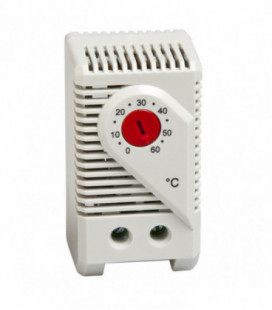 Termostato bimetálicos 1NC, serie KTO 011, rango de ajuste +14 + 122 ºF, Histéresis 7K, UL, STEGO