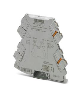 Convertidor analógico, Cin 0-20mA|4-20mA, Cout 0-20mA|4-20mA, serie MINI ANALOG PRO, Phoenix Contact
