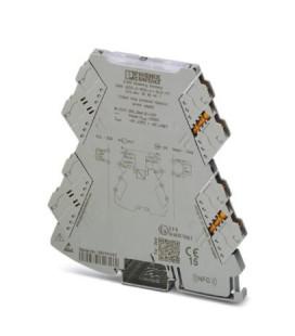 Convertidor analógico, Cin 0-20 4-20mA, Cout 0-20 4-20mA, serie MINI ANALOG PRO, Phoenix Contact