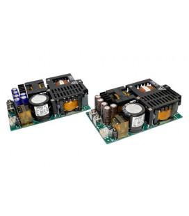Fuente de alimentación de la serie CUS600M de TDK-LAMBDA. Fuente de alimentación en formato abierto de 400W con picos de hasta 600W 30min de TDK-LAMBDA