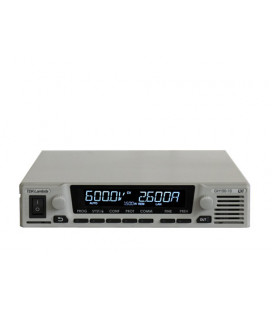 Fuente de alimentación programable de la serie GENESYS+ de TDK-LAMBDA. Fuente de alimentación de 1000W y 1500W en formato medio rack 1U de TDK-LAMBDA