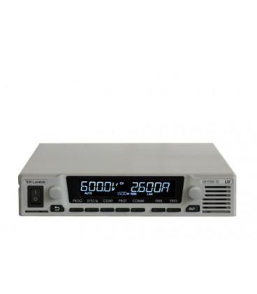 Fuente de alimentación programable de la serie GENESYS+ de TDK-LAMBDA. Fuente de alimentación de 1000W y 1500W en formato medi