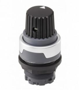 Mando para potenciómetro RMCR, formato Saliente, IP65, taladro Ø 22, Serie RONDEX-M