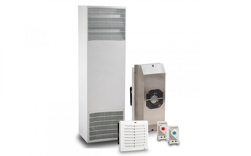 Hvac, aire acondicionado industrial, ventiladores