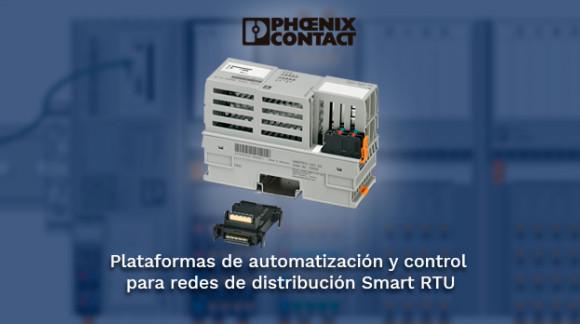 Plataformas de control y automatización para redes de distribución Smart RTU