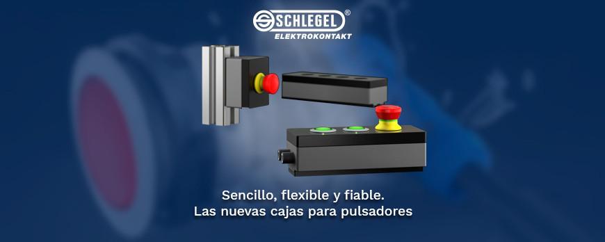 Cajas de pulsadores versátiles, fiables y con diseños únicos