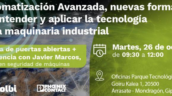 Automatización Avanzada, la nueva forma de entender y aplicar la tecnología en la maquinaria industrial