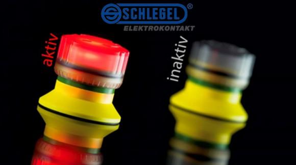 Nuevo pulsador de emergencia SCHLEGEL con indicación luminosa de estado para máxima seguridad