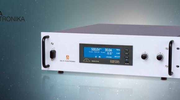 Nueva fuente de alimentación programable bidireccional 15KW con conexión en cascada de hasta 300KW.