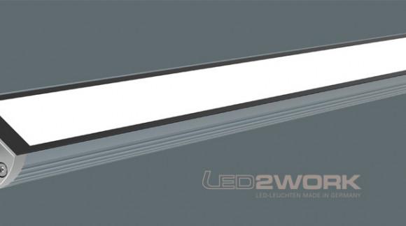 TUBELED 40 II Nueva versión mejorada en iluminación led tubular para maquinaria