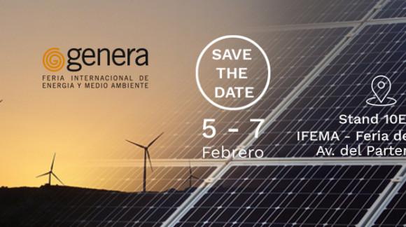 Save the Date! Inscríbete a Genera 2020. La Feria Internacional de Energía y Medio Ambiente