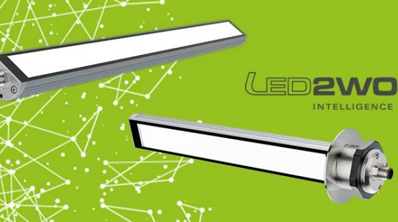 Lámpara LED tubular para maquinaria industrial. Más eficiencia, más económica