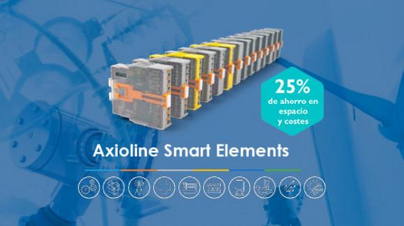 25% ahorro de espacio y coste con los nuevos Smart Elements de Phoenix Contact