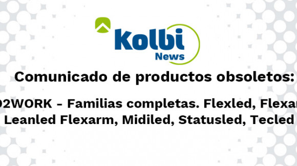 Varias familias de Led2Work quedan obsoletas el 03.07.2020