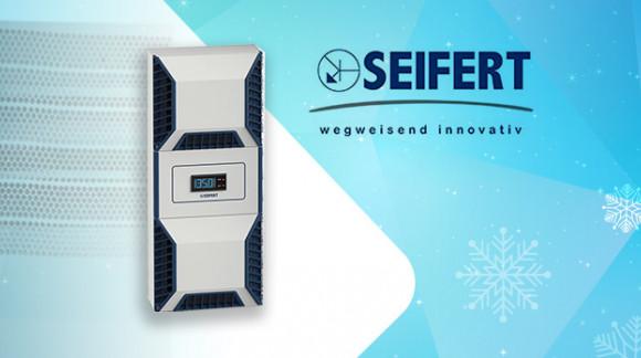 Refrigeración de cuadros eléctricos indoor y outdoor con la serie SLIMLINE PRO de SEIFERT SYSTEMS
